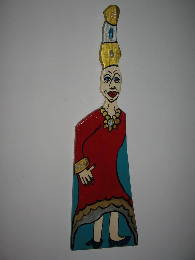 Wood, Acrylic & Varnish, 2009, SOLD