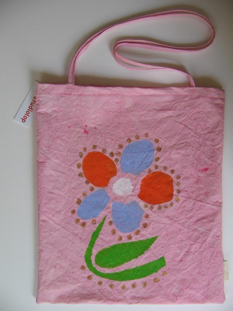 "16""x13"", Acrylic based Textile paints on Cotton, 2011,"