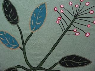 18'x18', Acrylic based Textile paints on Cotton, 2012, SOLD