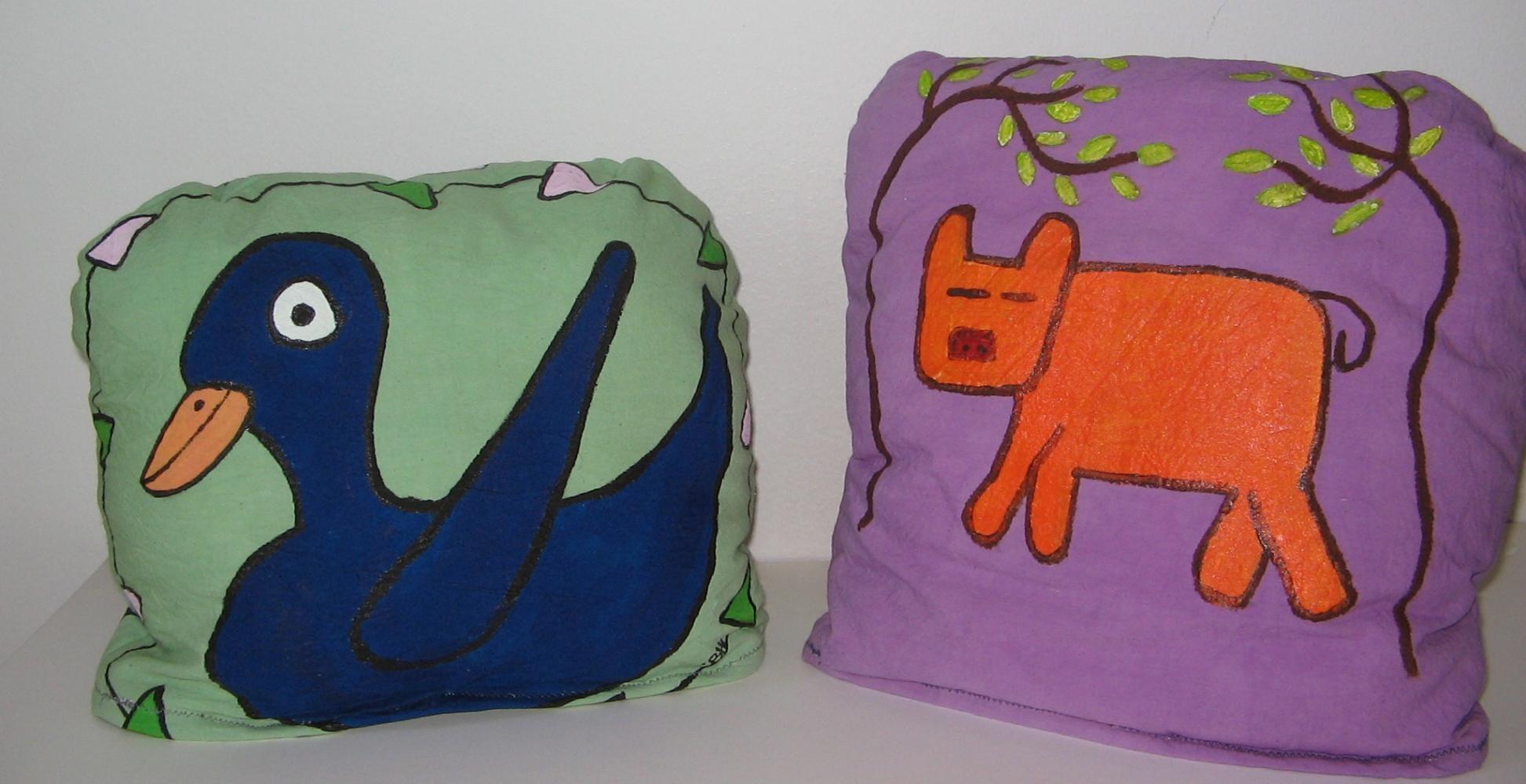 aCrylic based Textile paints on Cotton, 2012,